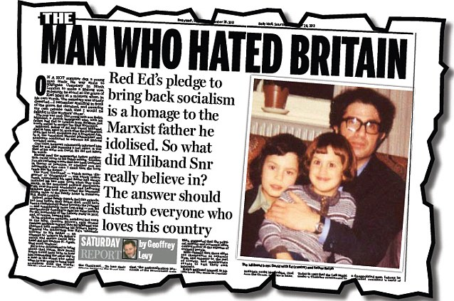 Image result for milibands dad britain
