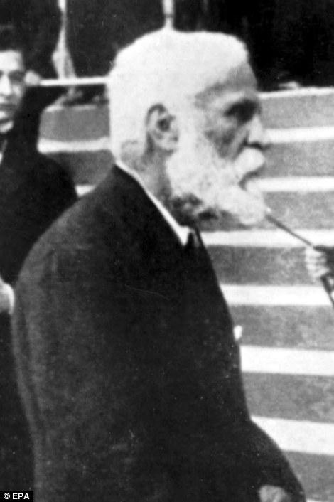 Spanish architect and artist Antonio Gaudi pictured in 1920