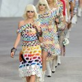 Delevingne is paris fashion week catwalk queen as she walks for chanel