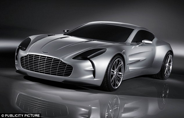 Not bad: The Cameroonian also owns a £1.25m Aston Martin One-77