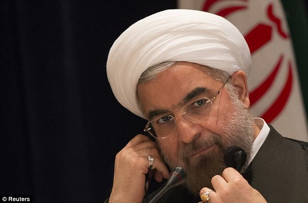 True ideology: President Hassan Rouhani has portrayed himself as a moderate but the new law gives indications that he does not plan on stopping the conservative clerics in the Iranian parliament