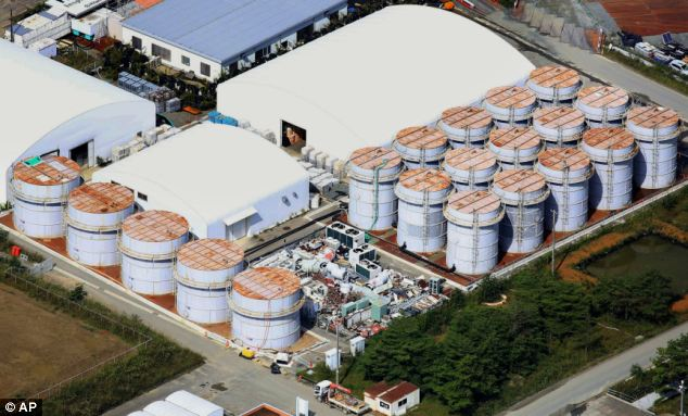 Concerning: Japan's crippled Fukushima nuclear plant has a new leak of radioactive water which may have entered the Pacific Ocean