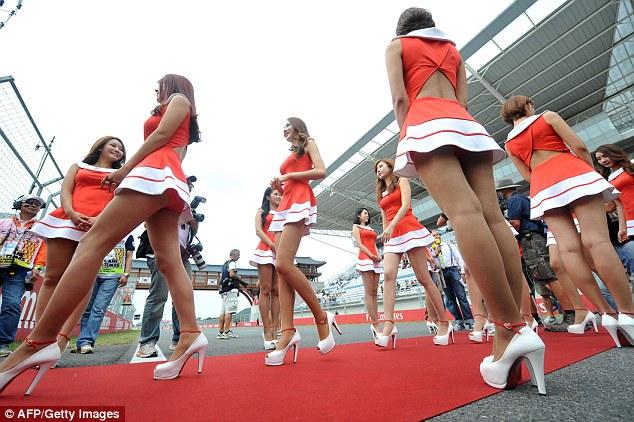 Track girls
