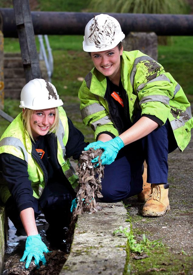 Image result for female sewage workers