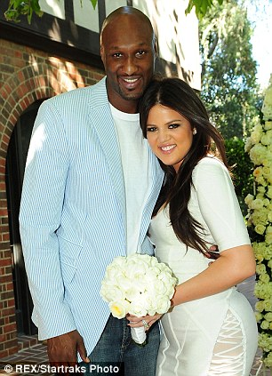 More trouble in paradise: Kris's daughter Khloe is going through her own marital woes with husband of four years, Lamar Odom