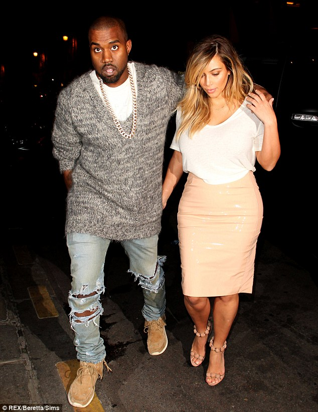 No I dos: It seems to escape the curse the Kardashians need to avoid getting married as the relationships that have not involved marriage - Kim and Kanye West and Kourtney and Scott Disick - seem to be the most successful