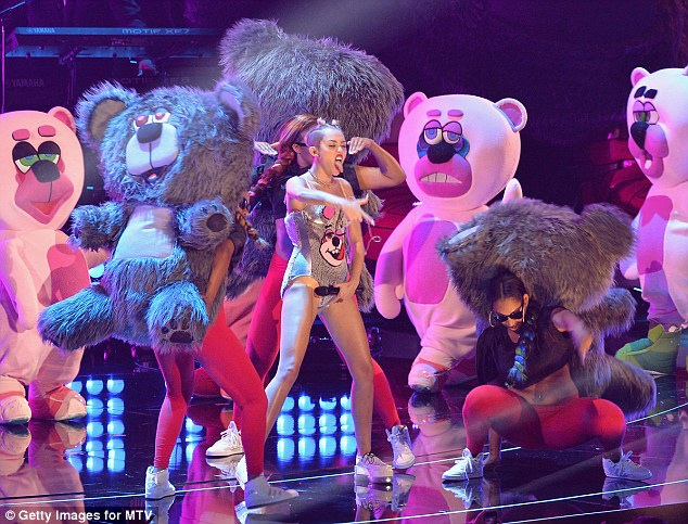 'I will be the first one to tell you that standing on that stage, in that costume was one of the most degrading things I felt like I could ever do,' she said, singling out another offense to add to Miss Cyrus' recent controversies -- one based on size