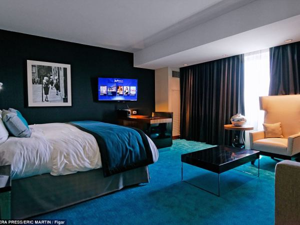 Stay awhile: For those worried about having to leave, worry to more. The Radisson Blu opened to guests in March and is connected to the mall, where all told it would take nearly four days to visit every shop for just 10 minutes
