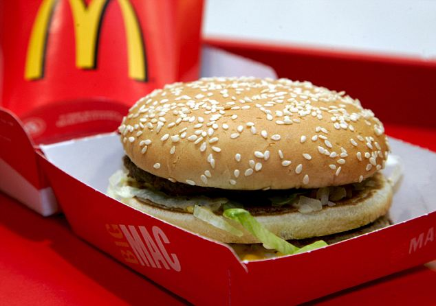 Big Mac: The driver refused to pull over until he could finish his burger