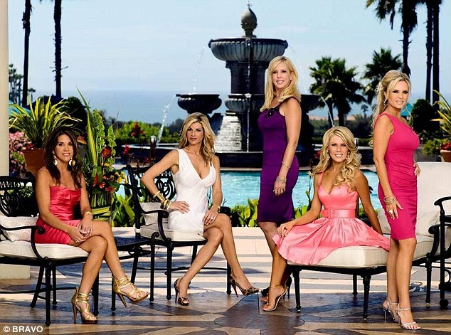Bravo past: Curtin starred in seasons four and five of the Orange County spin-off, but by the sixth season (2011) she was just a guest star