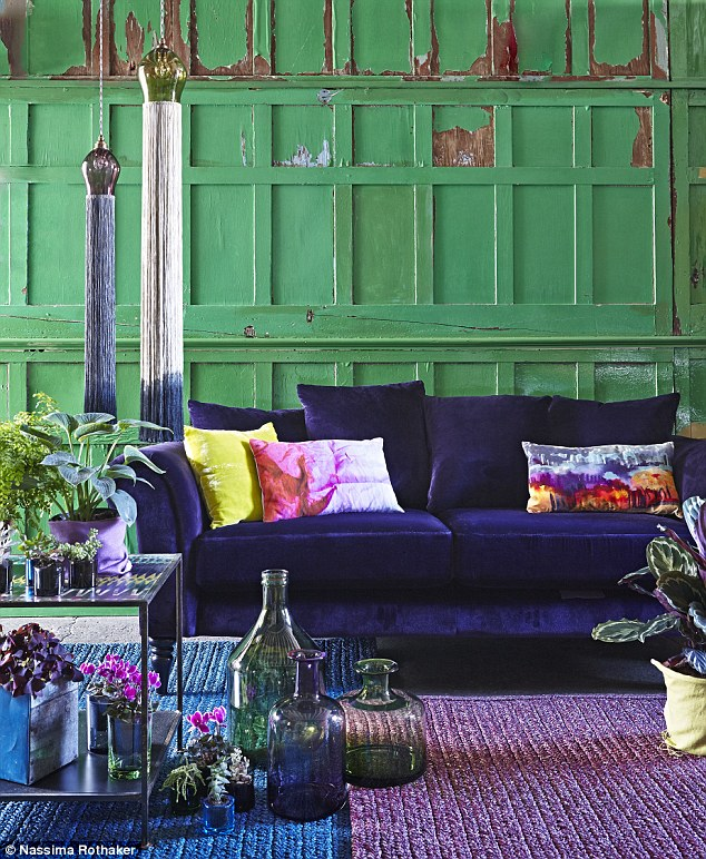 sofa cover fabric online images of rooms with sectional sofas lifestyle: autumn's lustre list | daily mail