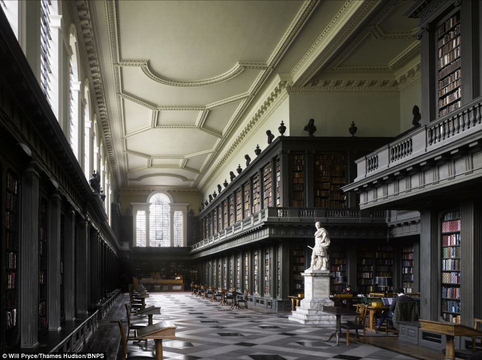 Shhhh: The Codrington Library was built to house the thousands of books at All Souls College in Oxford long before Kindles and iPads existed