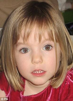 Falta: Madeleine desapareció el 3 de mayo de 2007, de un apartamento turístico en Praia da Luz, Portugal