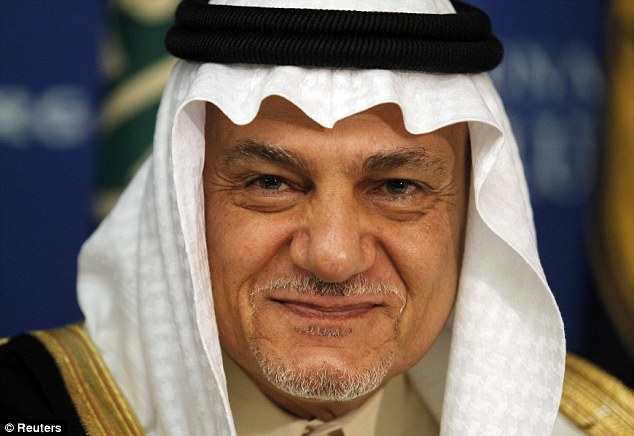 Saudi intelligence chief Prince Turki Al Faisal also is outraged the international community has let the war continue in Syria