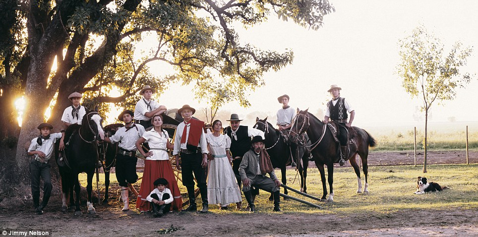 The Gauchos of Argentina are nomadic horsemen who have wandered the prairies since as early as the 1700s