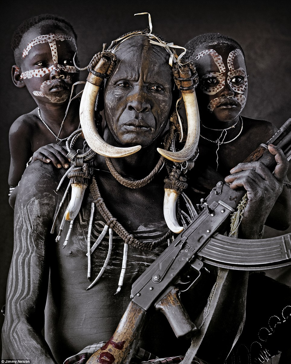 The Mursi are a nomadic tribe of herdsmen living in the lower Omo Valley, situated in Africa¿s Great Rift Valley in south-west Ethiopia, not far from the Kenyan border
