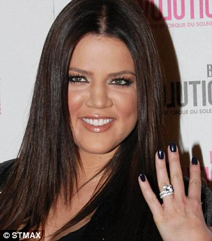Whirlwind: Khloe Kardashian and Lamar Odom announced their engagement just six weeks after meeting in 2009
