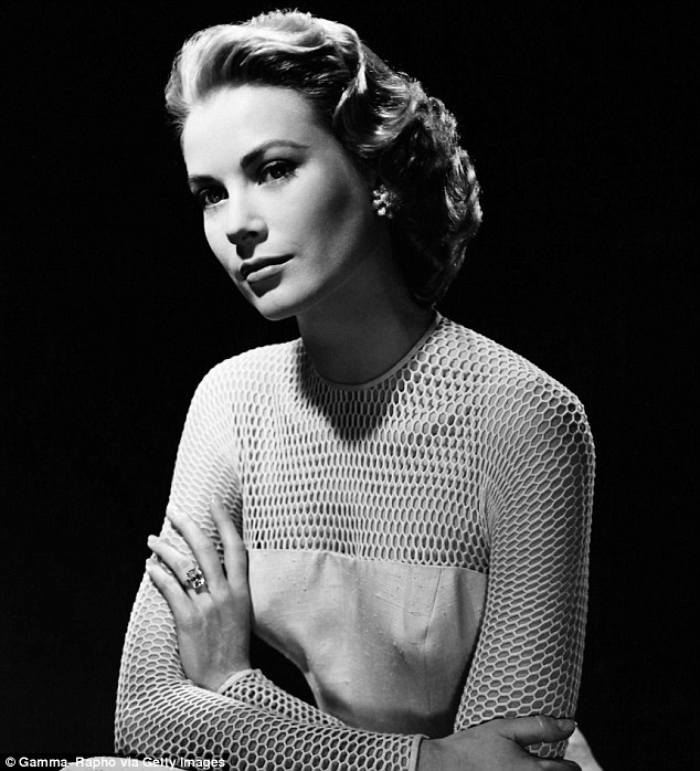 Grace Kelly poses for a portrait on April 13, 1956
