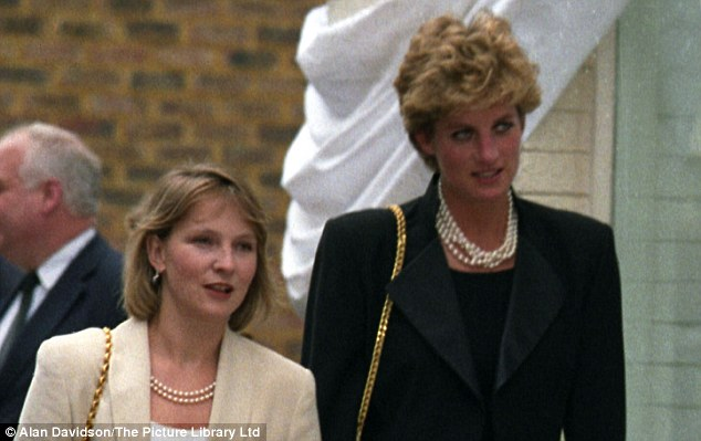 Julia Samuel (nee Guinness) met Diana at a dinner party and they became firm friends instantly