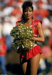 history of nfl cheerleader uniforms