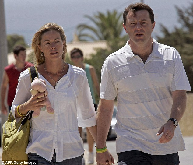 Fresh hope: Kate and Gerry McCann, pictured in Praia da Luz in 2007 weeks after their daughter disappeared, have never given up hope that their daughter will be found alive