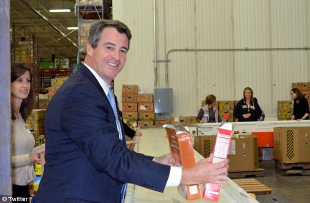 Campaigning: Attorney General Doug Gansler is hoping to become the next Democratic mayor of Maryland