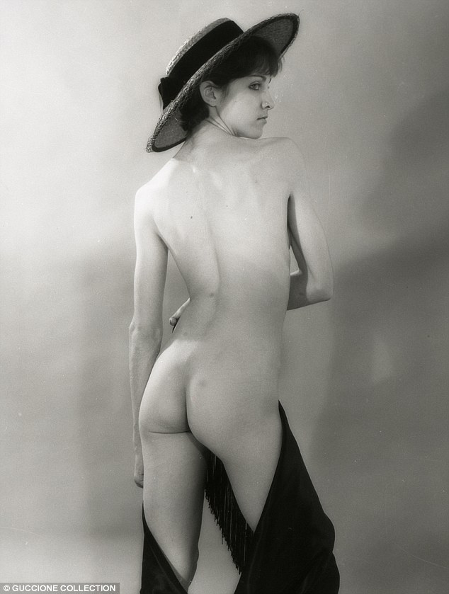 Erotic: Years before she would publish her steamy book, Sex, Madonna posed for nude photos - including one where she donned nothing but a wide-brimmed hat