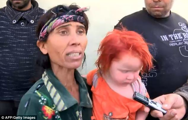 Greek police chief Astelios Matziokas said: 'This information is the best lead we have for finding Maria's parents.'