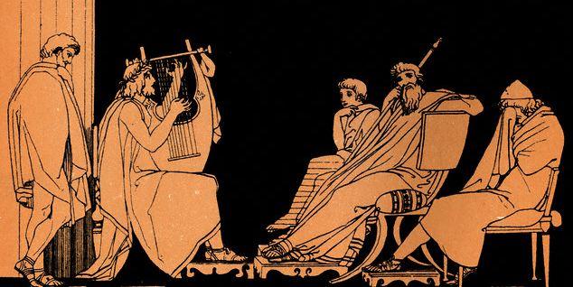 [Greek Musicians]