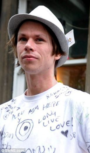 Arrested: Lauri Love, from Suffolk, is alleged to have stolen 'massive amounts' of confidential information ¿ including details of military servicemen ¿ by breaking into thousands of computers