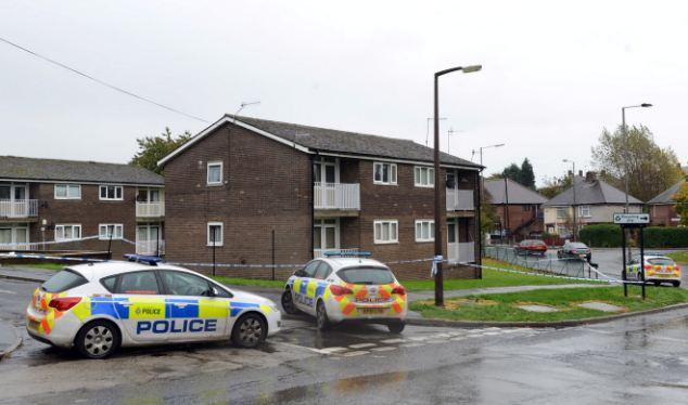 The murder scene where Sheffield Hallam University graduate Thavisha Lakindu Peiris was stabbed to death while delivering pizzas