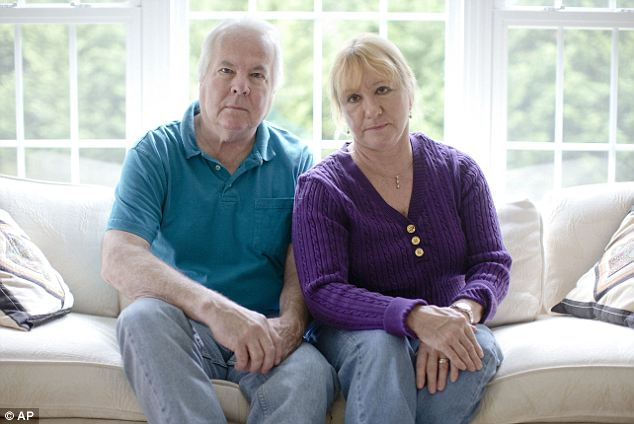 Cancelled: Dean and Mary Lou Griffin, of Chadds Ford, Pennsylvania, are among millions of people nationwide who buy individual insurance policies and are receiving notices that those policies are being discontinued