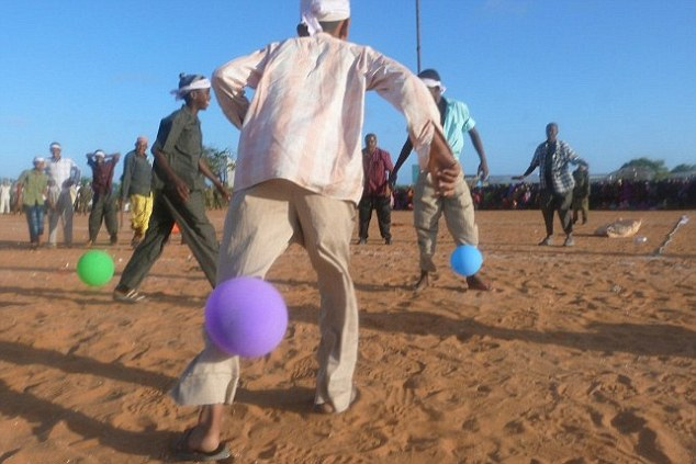 Football and music are banned in areas under al-Shabaab rule but people took part in a sports day to bring different factions of the terrorist group together