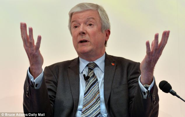 Culture: Lord Hall said staff at the BBC had to treat the licence fee as if it were their own money