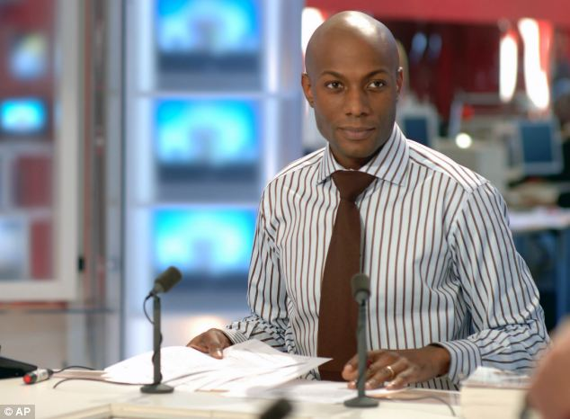 Harry Roselmack, France's first black newsreader, has said there is 'deep-seated racism' in the country