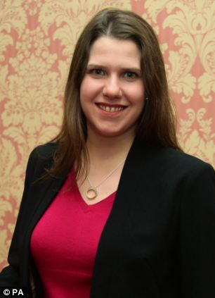 Advice: Business minister Jo Swinson said people in financial trouble should get debt advice not a payday loan