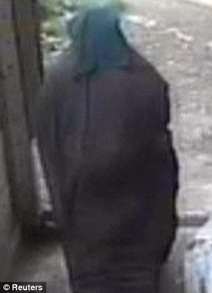 A CCTV image issued by the Metropolitan Police of Mohamed who is being hunted by counter-terrorism officers