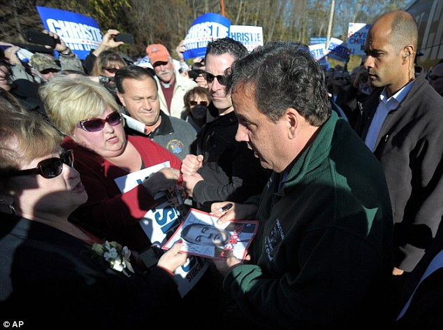 Pattern: In January, Christie graced the cover of Time Magazine with the title 'The Boss' (pictured). The governor was not happy with the unflattering photo chosen for the issue