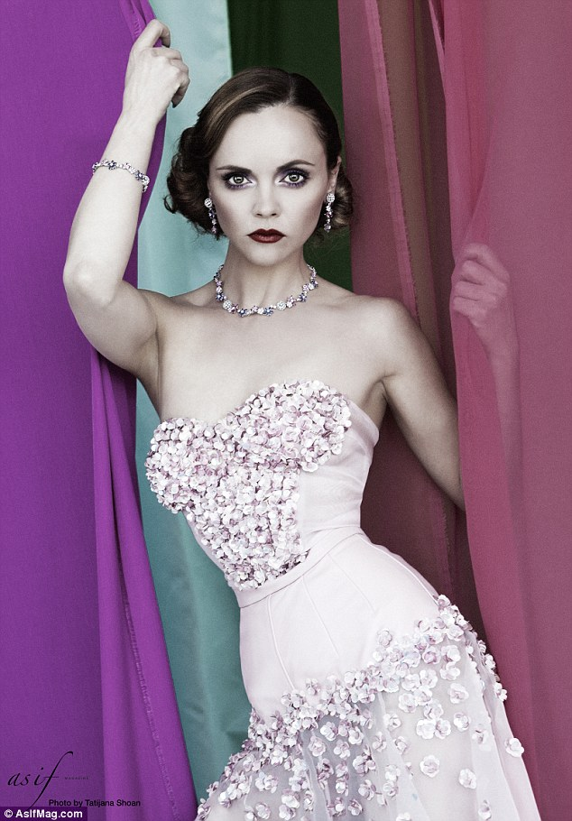 Christina Ricci Shows Off Slim Waist In Sexy New Shoot For