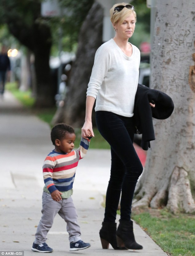 HollyNolly Her Leading Man Charlize Theron Treats