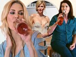 Brandi Glanville and her mom swig wine from bottle on Real Housewives... and why her dad has stopped talking to her after THAT Oscars dress