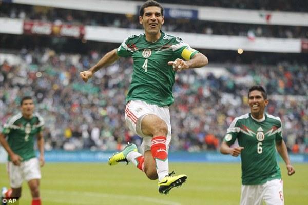 Mexico 5 New Zealand 1 match report No Javier Hernandez