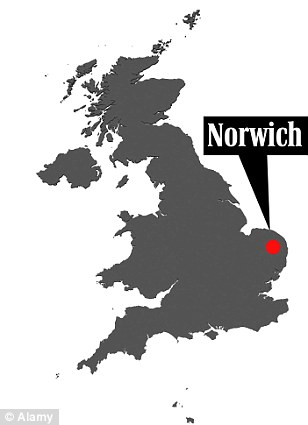 Norwich is usual thought of as a relatively quiet East Anglian town