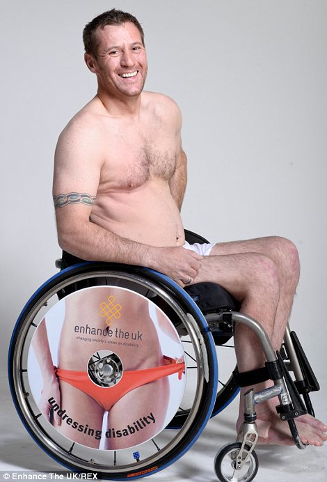 Disabled people strip off for stunning Undressing