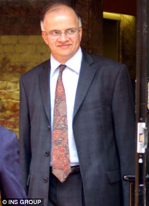 Claims: Doctor Desai was called 'not one of us' by white colleagues at Wexham Park Hospital in Slough
