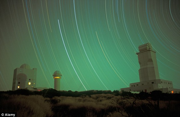 The sky's the limit: Teide Observatory in the island's national park is one of the world's most advanced astronomical observatories