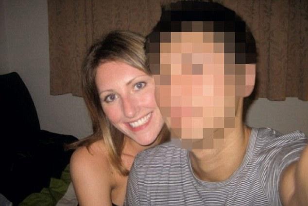 Nikki with her Chinese ex-boyfriend