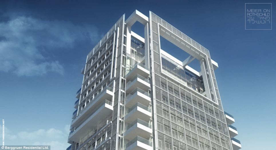 Tel Avivs luxurious Meieron Rothschild Tower penthouse
