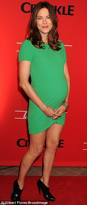 Michelle Monaghans Baby Weight Is Gone Baby Gone One Month After Giving Birth To Second Child