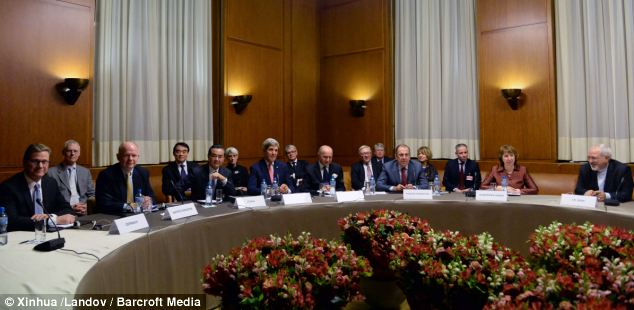 The talks in Switzerland included Iran, Germany and the five permanent members of the United Nations Security Council: the United States, Russia, China, the United Kingdom and France